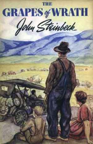 John Steinbeck The Grapes of Wrath Roman uit 1939