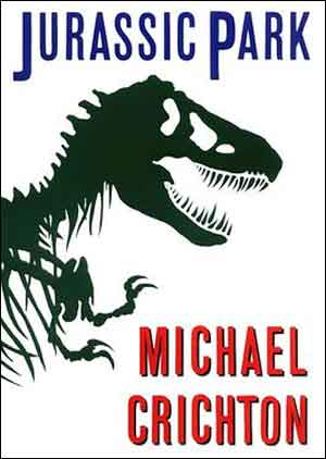 Michael Crichton Jurrasic Park Science Fiction Boek uit 1990