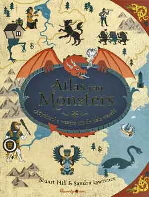 Stuart Hill Sandra Lawrence Atlas van Monsters Recensie