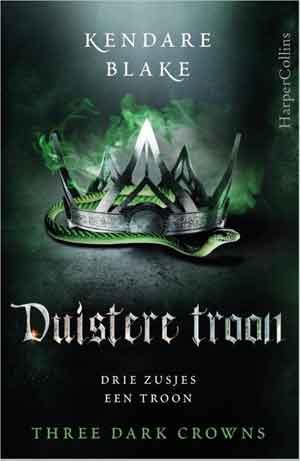 Kendare Blake Duistere troon Recensie en Informatie
