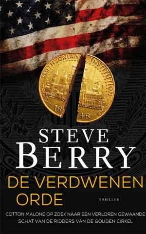 Steve Berry De verdwenen orde Recensie