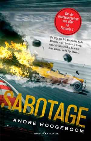 André Hoogeboom Sabotage Recensie Formule 1 Thriller