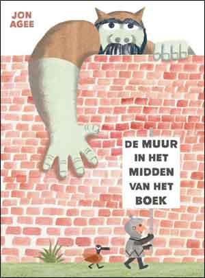 Jon Agee De muur in het midden van het boek Recensie Prentenboek