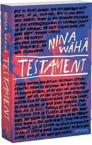 Nina Wähä Testament Recensie