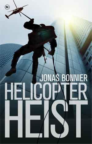 Jonas Bonnier Helicopter heist Recensie