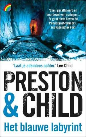 Preston & Child Het blauwe labyrint Rainbow Pocket 1317