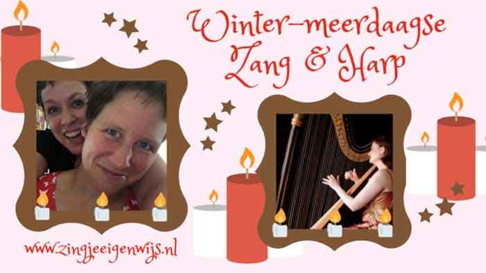 Winterworkshop Zang met Harp