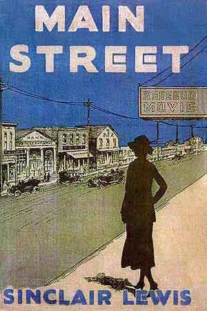 Sinclair Lewis Main Street - Boeken uit 1920