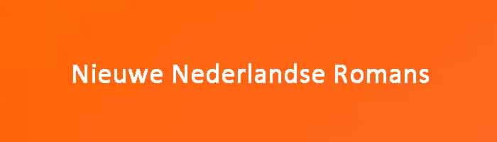 Nieuwe Nederlandse Romans 2020