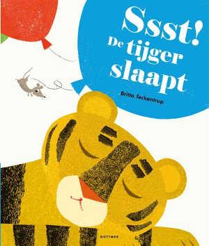 Britta Teckentrup Ssst De tijger slaapt