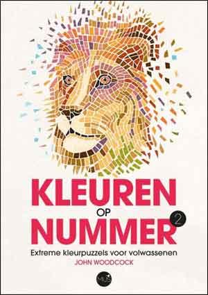 Kleuren op Nummer 2 Boek Kleurpuzzels