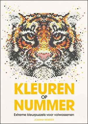 Kleuren op Nummer Boek Kleurpuzzels
