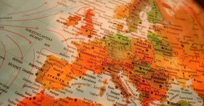 Officiële taal in Europa