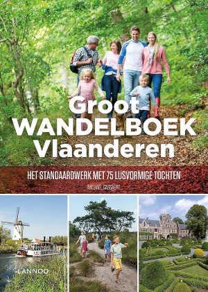 Michaël Cassaert Groot wandelboek Vlaanderen wandelgids