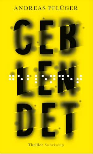 Andreas Pflüger Geblendet Recensie Duitse thriller