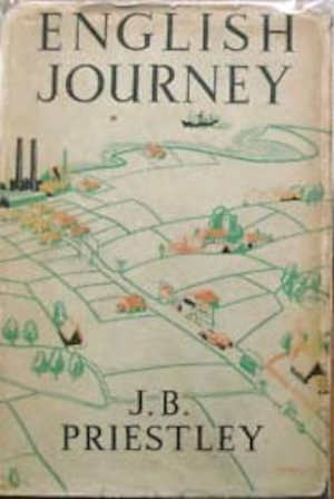J.B. Priestley English Journey Boek uit 1934