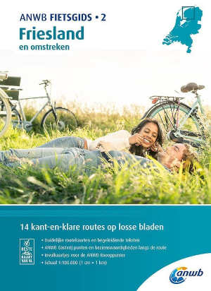 ANWB Fietsgids 2 Friesland
