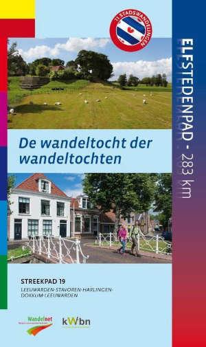 Elfstedenpad wandelgids Friesland LAW-gids streekpad 19