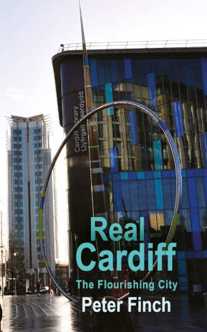Peter Finch Real Cardiff boek