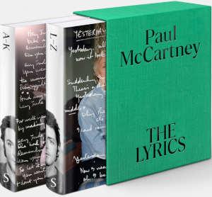 Paul McCartney De Lyrics Boek met songteksten recensie