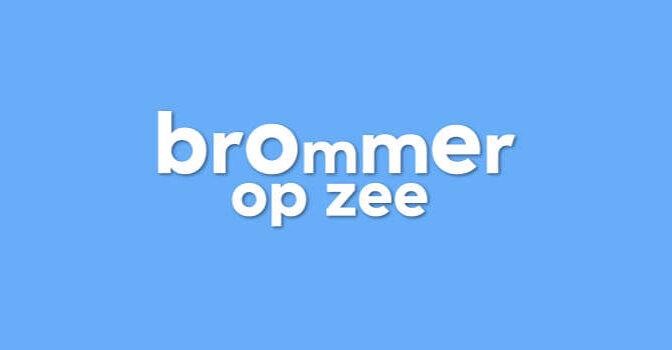 Brommer op zee boeken tv-programma van Wilfried de Jong