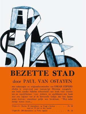 Paul van Ostaijen Bezette stad Recensie boek uit 1921